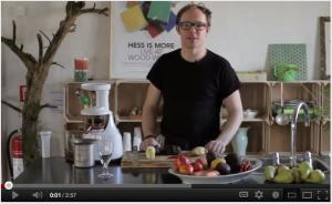 Søren Ejlersen og Hurom HU-400 Slow Juicer